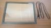 """ZaagTech сенсорная рамка 15"""", 4:3, 4 касания со стеклом"""